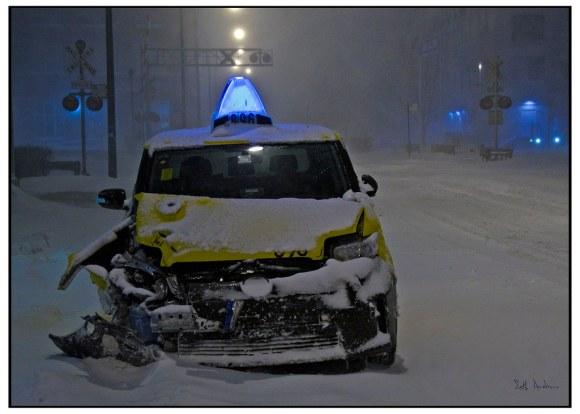 Abandoned Cab