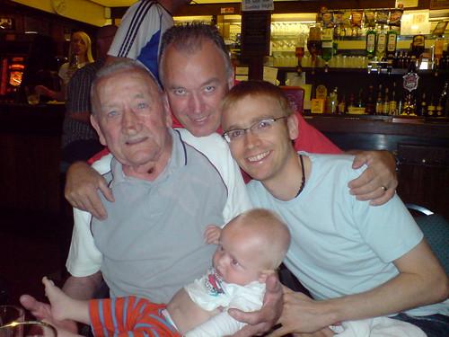 Four generations of Doran!