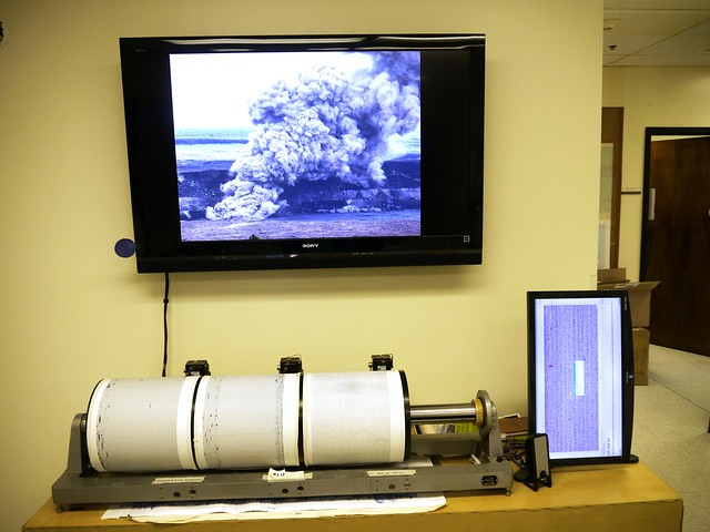 HVO Seismographs and Recent Activity