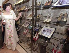 Imelda Marcos shoes
