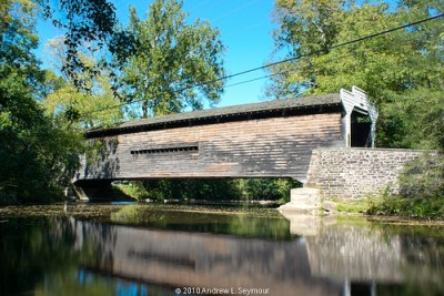 Kennedy Covered Bridge hdr 04 (Long Exterior View 01)