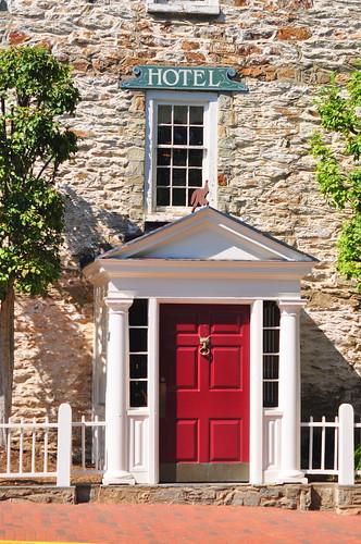 entrance, Red Fox Inn