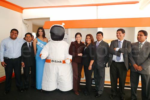 El equipo de D-Link