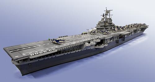 USS Intrepid-at-sea