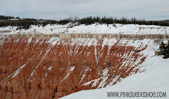 Snow at Cedar Breaks