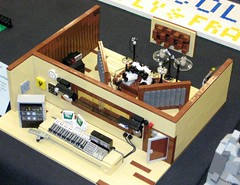 LEGO: Recording Studio at Brickcon 2010