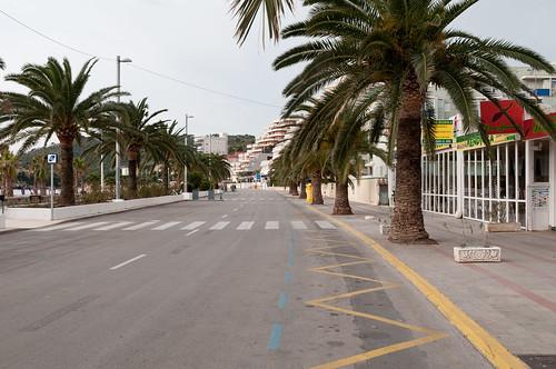 Las calles desiertas