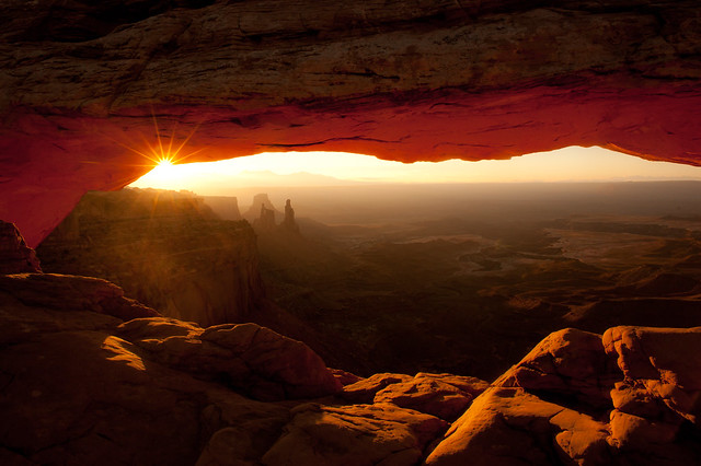 """Mesa Arch"" Utah~Sunrise~Light~Canyonlands~National Park"