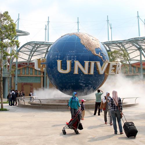 Outside Universal Studios - 2