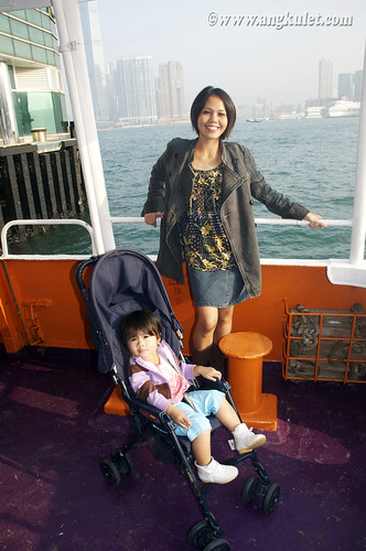 Ferry to Mui Wo, Lantau Island, HK 2010