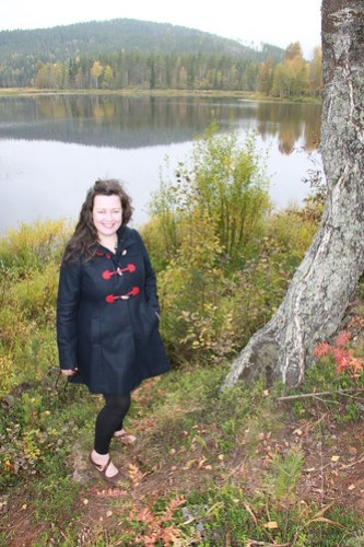 Lovely lake in Lapland