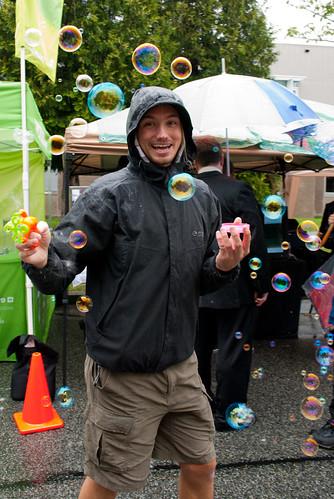 oakridge block party.bubbles bubbles bubbles