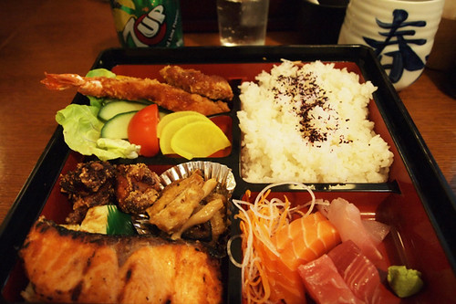Bento box at Aki
