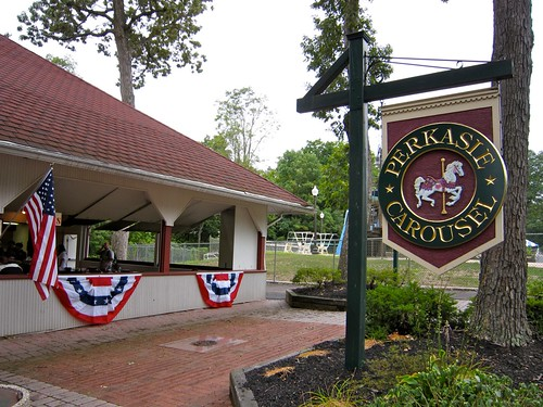 Perkasie Carousel Sign