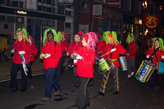 Burgess Hill Bonfire Parade