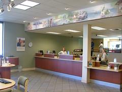 AFTER Interior Bank Décor | Bank Teller Design...