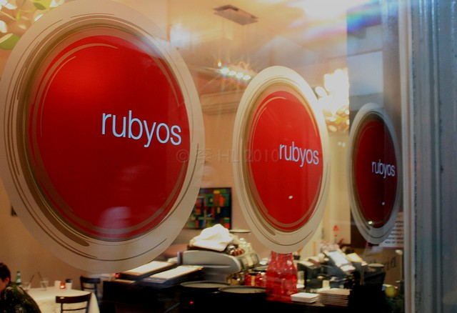 Rubyos Sydney food