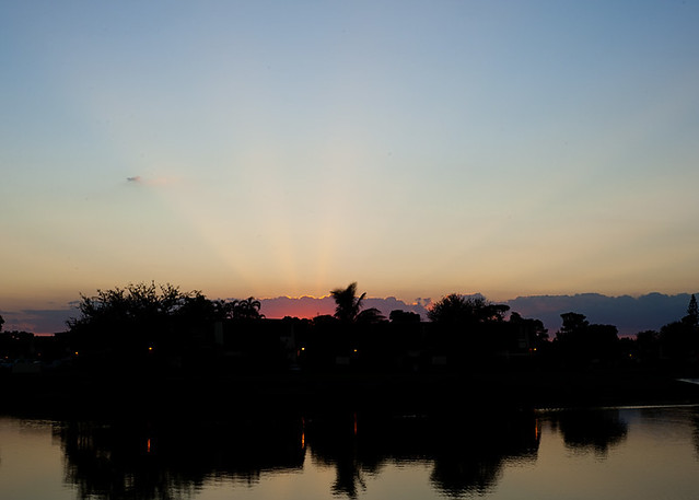 brilliant sunset
