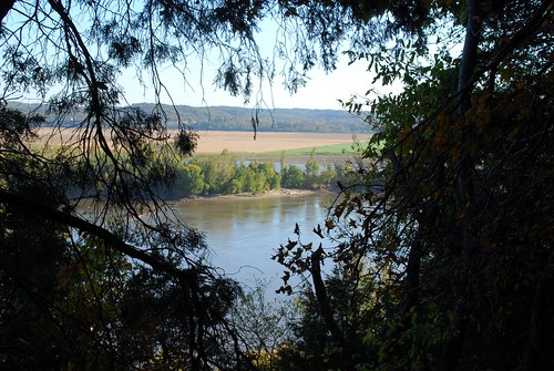 Riverview from the Missouri River Bluffs