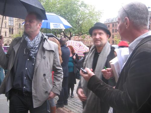 Lars Saabye Christensen in Albert Square