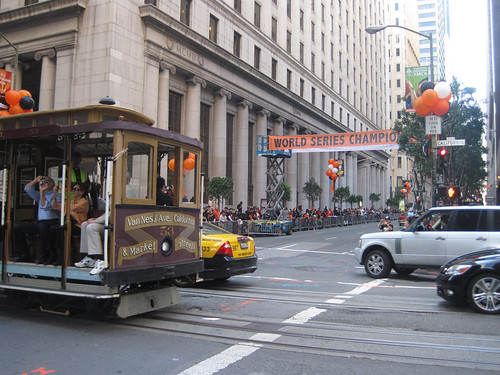 World Series Champion Cable Car