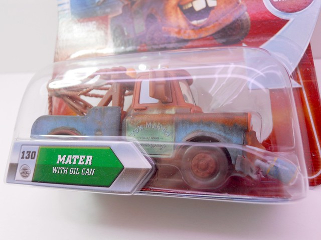 disney CARS CHASE MAter WITH oIL CAN (2)