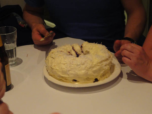Gary's birthday: Carrot cake