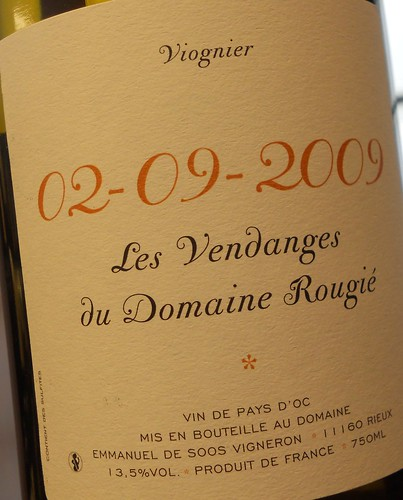 Lovely French Viognier