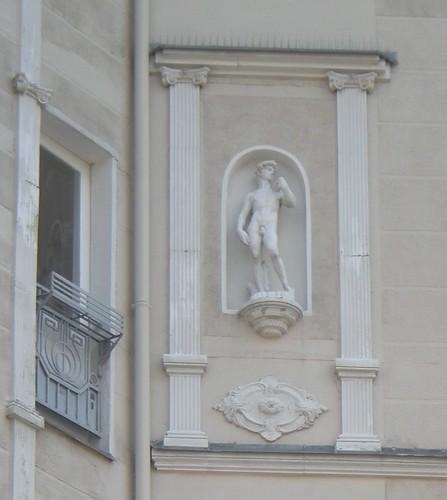 Michelangelo in der Pfalzburger Straße