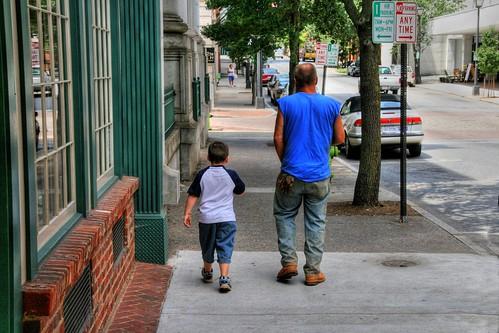 Walking with Poppa