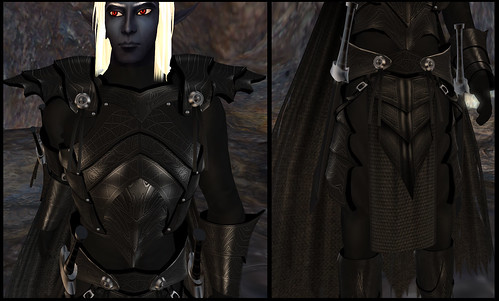 male dark elf - frontside detail