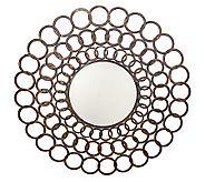 iron ring mirror QVC