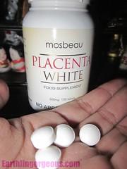 Mosbeau Placenta White