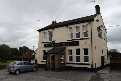 The Stanley Arms public house Anderton near Northwich