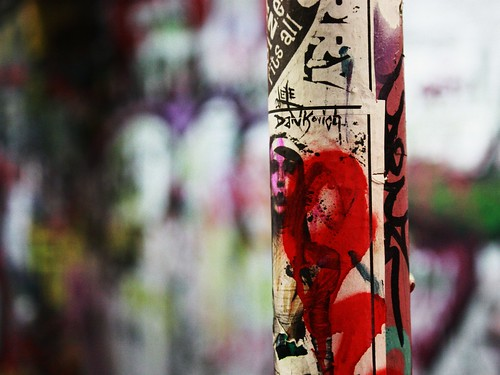 Graffiti Pole