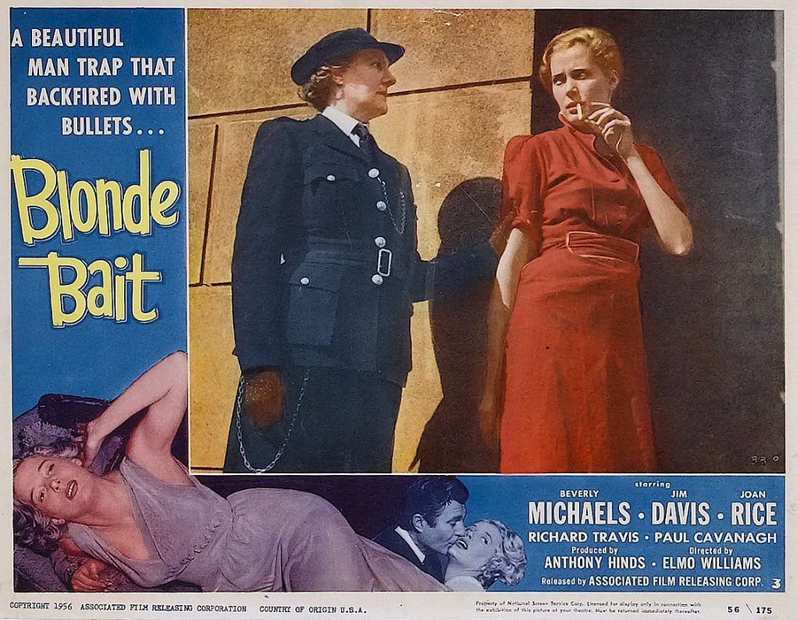 Blonde Bait  - Lobby Card 2 (1956)