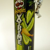 Screamin' Dill Pickle Pringles: A Review