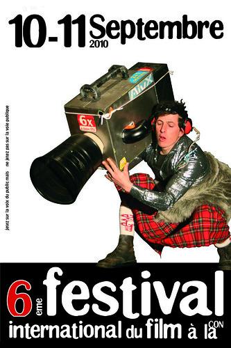 Flyer 2010 Festival du Film à la con
