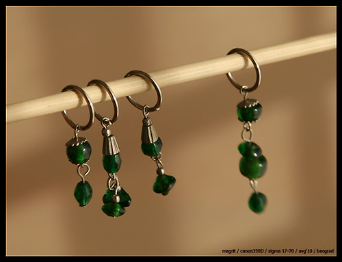 stitchmarkers green