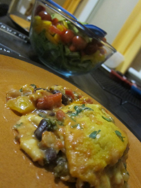 Enchilada casserole!