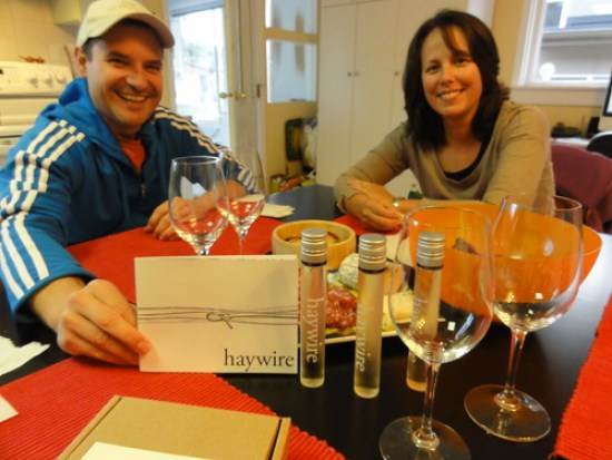 Haywire with friends Pete & Sharon