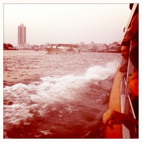 on the chao praya