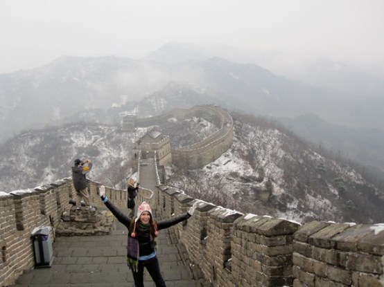 Nadine  Mutianyu Great Wall