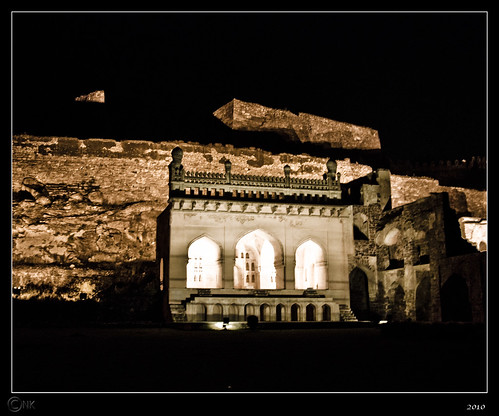 Taramati mosque, Golconda Fort, Hyderabad