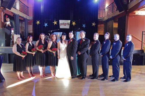 The Wedding Party - Photo by Michael Raffin