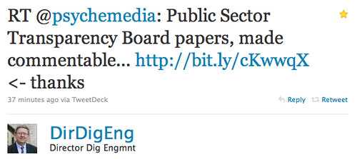WTR public Secotr Transparency Board
