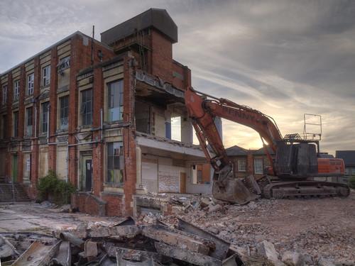 Demolition HDR by bananabat
