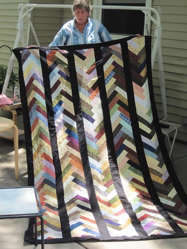 Pat's French Braid Quilt