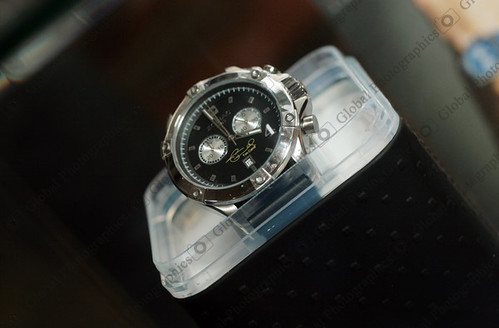 "Zodiac watch with ""Tim Cahill"" signature"