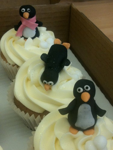 Cirencester Cupcakes - Penguin Birthday Cupcakes